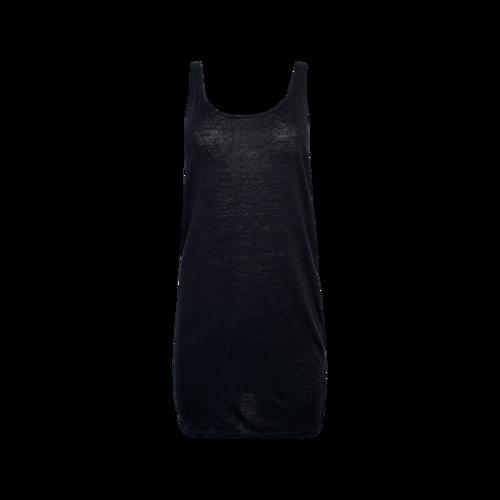 Sandro Paris Dark Blue Strappy Tank Dress