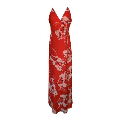 "Yumi Kim Bay Breeze Red ""Rush Hour"" Maxi Dress"