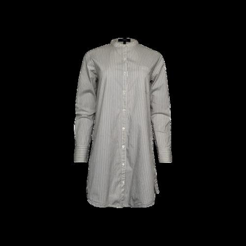 Theory Pinstripe Shirt Dress