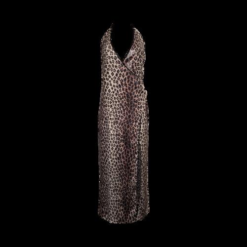"Camila Coelho Leopard Sequin ""Calista"" Gown"