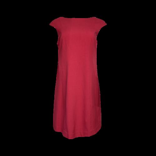 Vince Camuto Pink V-Neck Back Dress
