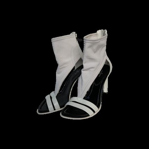"Louis Vuitton White ""Iconic"" Sandals"