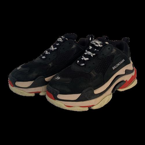 Balenciaga Black Multi Triple S Sneakers