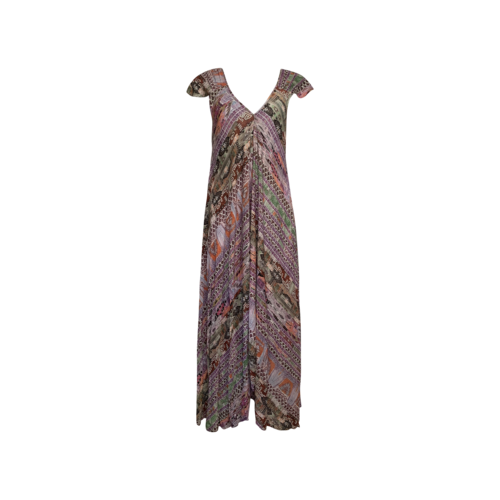 Kamaya Multi Long Aztec Print Dress