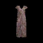 Multi Long Aztec Print Dress
