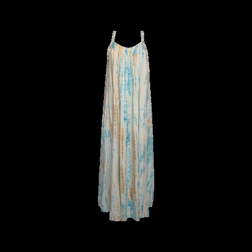 Ava Sky Multi Long Tie Dye Dress