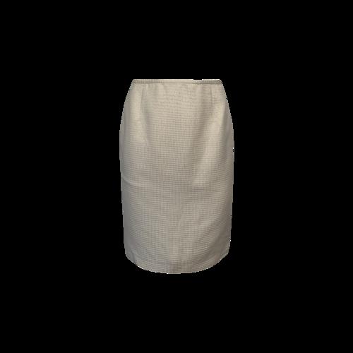 Calvin Klein Beige Pencil Skirt