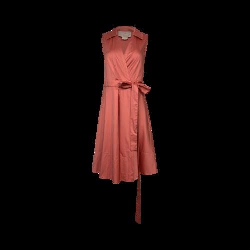 "Gal Meets Glam Rosemist Pink ""Heather"" Wrap Dress"