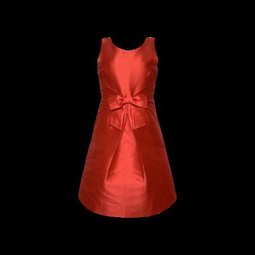 "Kate Spade Red ""Jillian"" Bow Dress"
