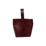 """Faith Cranberry Red """"Melbourne"""" Wristlet Pouchette Bag"""