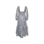 """Blue Floral """"Summer Blossom"""" Ankle Gown"""