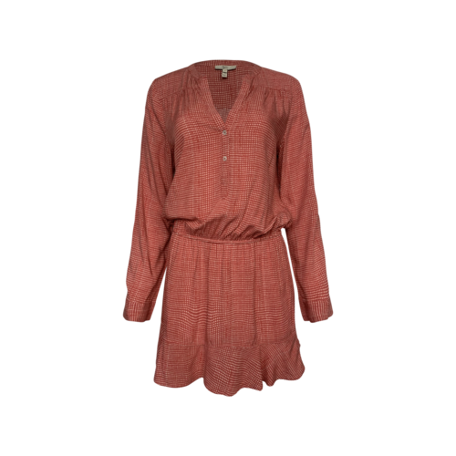Joie Red Printed Blouson Dress