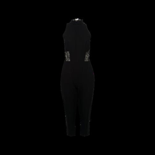 Nicholas the Label Black Panel Lace Jumpsuit