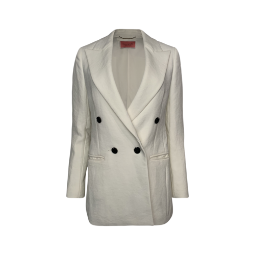 Kate Spade White Oversized Blazer