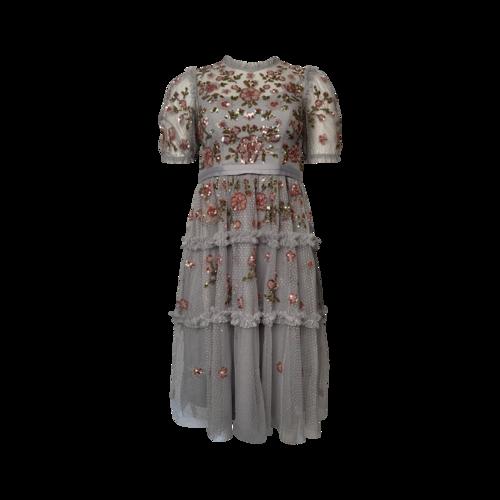 "Needle & Thread Purple ""Carnation"" Sequin Dress"