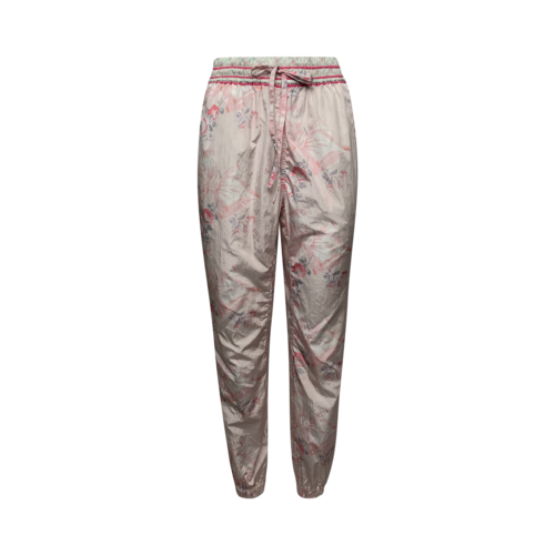 Love Shack Fancy Mixed Floral Pattern Track Pants