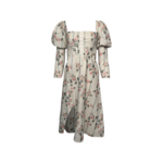 """""""Empire"""" Floral Puff Sleeve"""