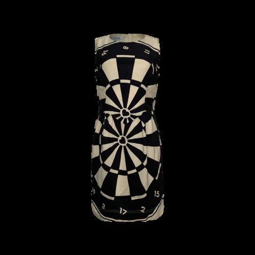 Vintage Dartboard Print Dress