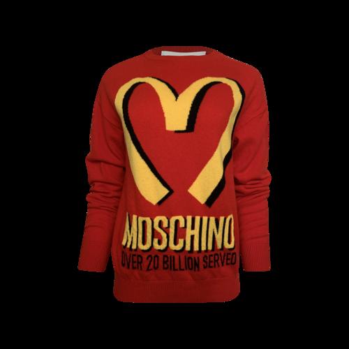 Moschino Jeremy Scott x Moschino McDonald's Sweater