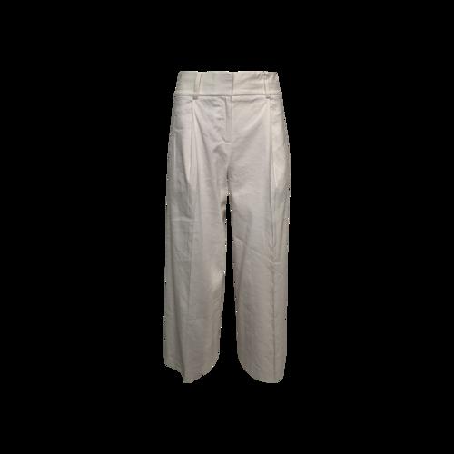 Diane von Furstenberg White Wide Leg Pants