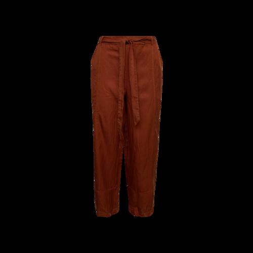 "Eileen Fisher Orange ""Lantern"" Ankle Pants"