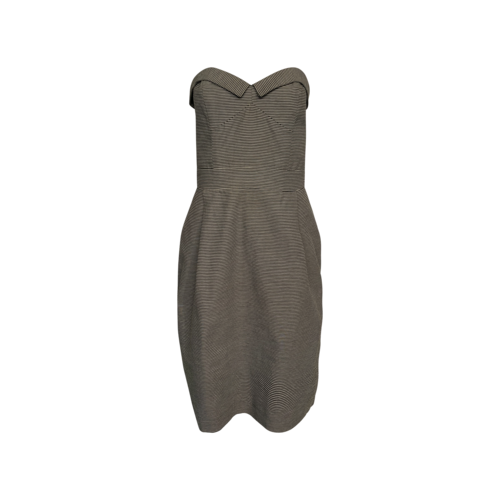 French Connection Strapless Stripe Dress