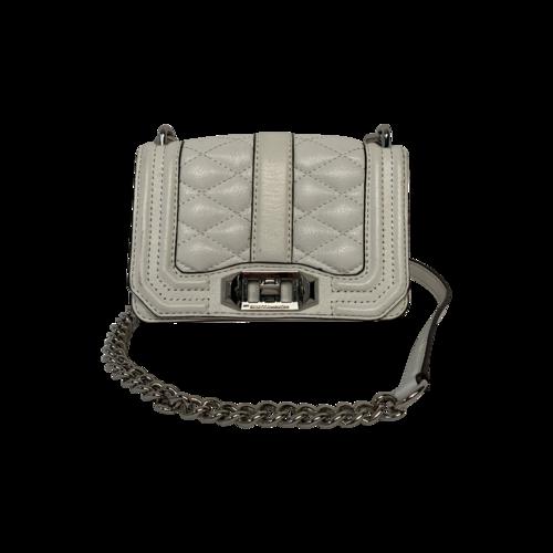 Rebecca Minkoff White Mini Love Crossbody Bag