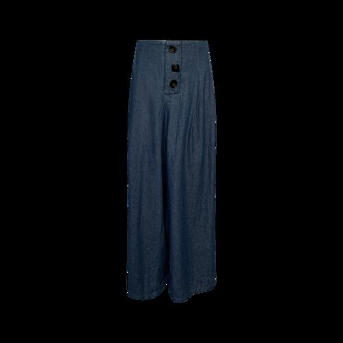 Eloquii Blue Wide Leg Weekender Pants