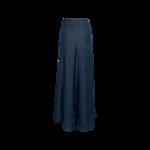 Blue Wide Leg Weekender Pants