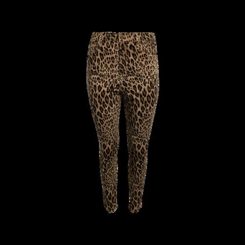 """FRAME Leopard Print """"Ali"""" High Rise Cigarette Jean"""