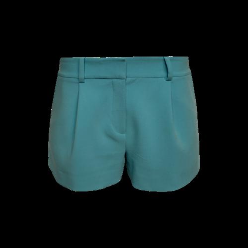 """Diane von Furstenberg Green  """"Naples"""" Shorts"""