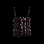 Jo Ed Sophisticates Multi-Color Sequin Top