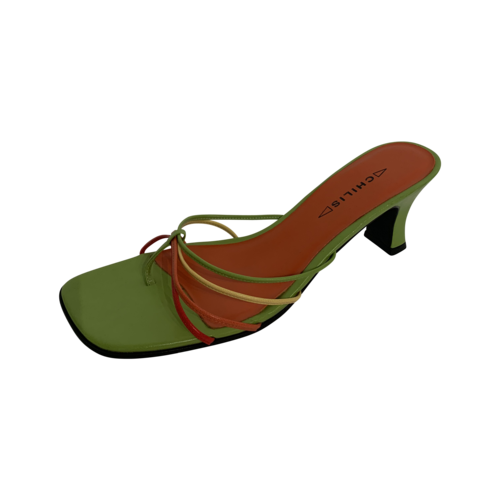 Green Chilis Strappy Mules