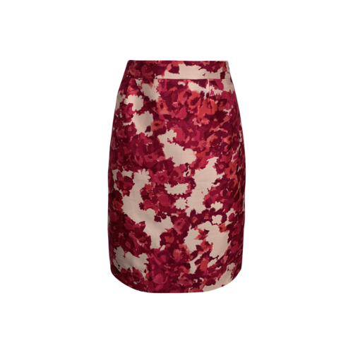 "Kate Spade Pink Floral ""Jordan"" Skirt"