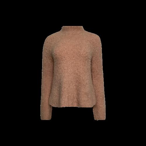 Ulla Johnson Pink Flare Sleeve Turtleneck Sweater