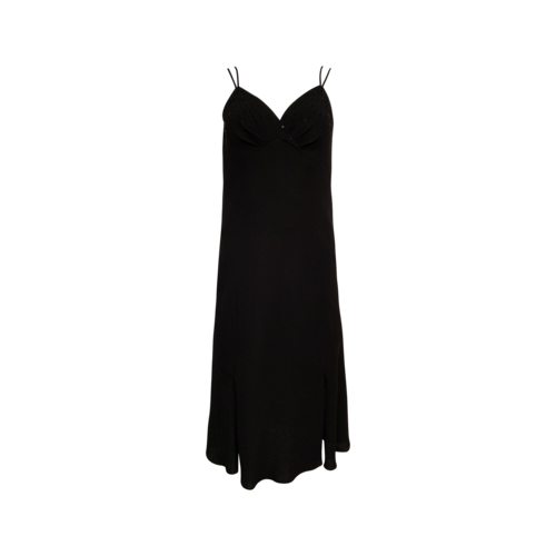 Black Sandra Darren Beaded Dress
