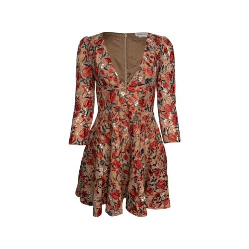 """Lovers and Friends Floral Embroidered """"Vira"""" Dress"""