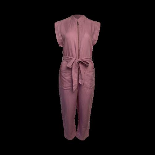 Kate Spade Lilac Linen Jumpsuit