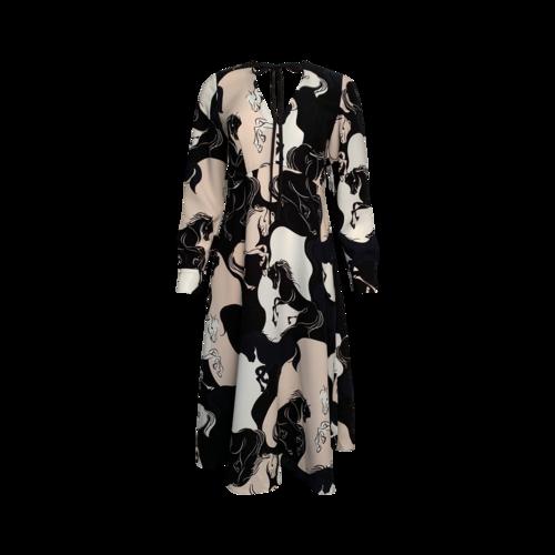 Kate Spade Stallions Print Dress
