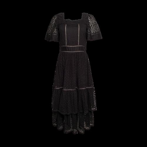 """Kate Spade Black Eyelet """"Beatrice"""" Dress"""