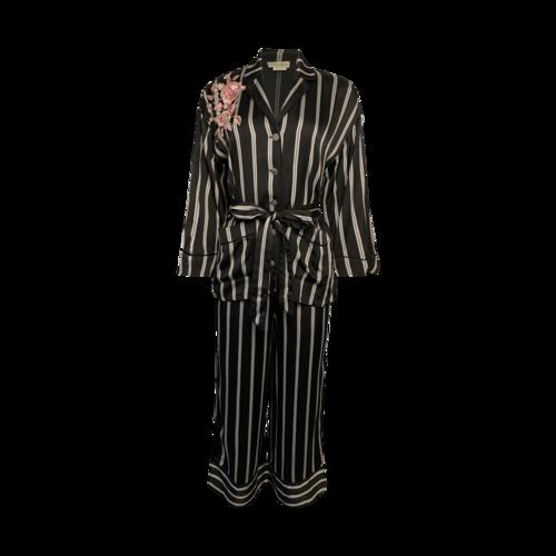 "Kate Spade Striped ""Perita"" 2-Piece Pants and Jacket Set"