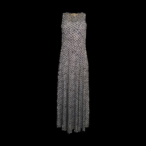 "Michael Kors Blue ""Wax Print"" Tank Jersey Dress"