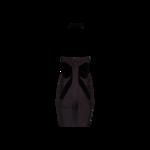 Grey Halter Neck Bandage Dress