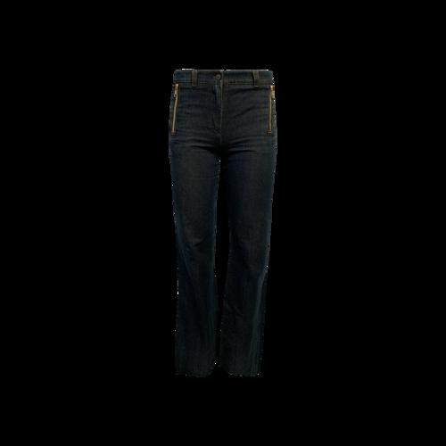 Chloé Blue Jeans w/ Sequin Horse Detail