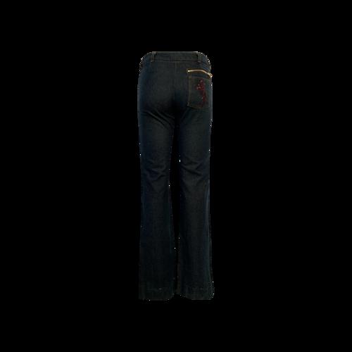 Blue Jeans w/ Sequin Horse Detail