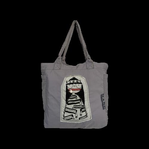 Marc Jacobs Grey Animated Vintage Tote Bag