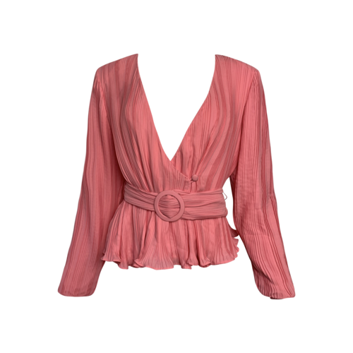 """Lovers and Friends Candy Pink """"Henrietta"""" Top"""