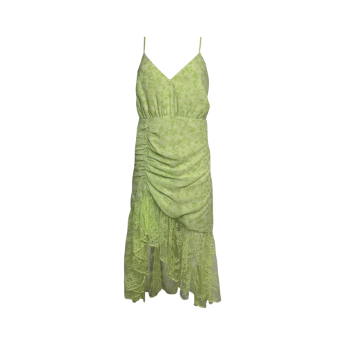 """Lovers and Friends Green Hazy Floral """"Salvatore"""" Dress"""