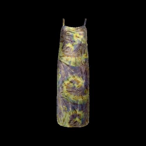 "Flynn Skye Spiral Mist Print ""Jackie"" Slip Dress"