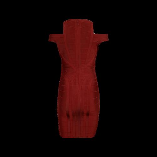 "Red ""Lianna"" Bandage Dress"